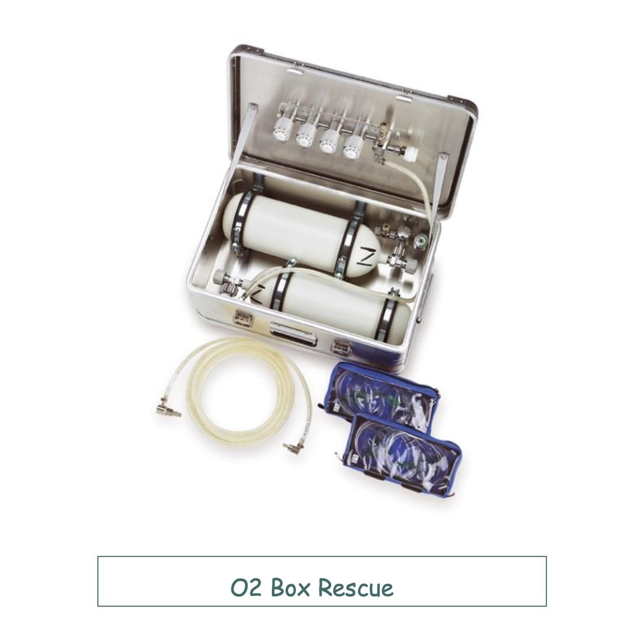 Универсальная переносная кислородная система O2 Box Rescue
